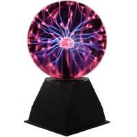 Тесла плазменный шар с молниями