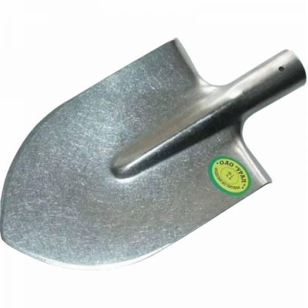 Легкая штыковая средняя титановая лопата для копа
