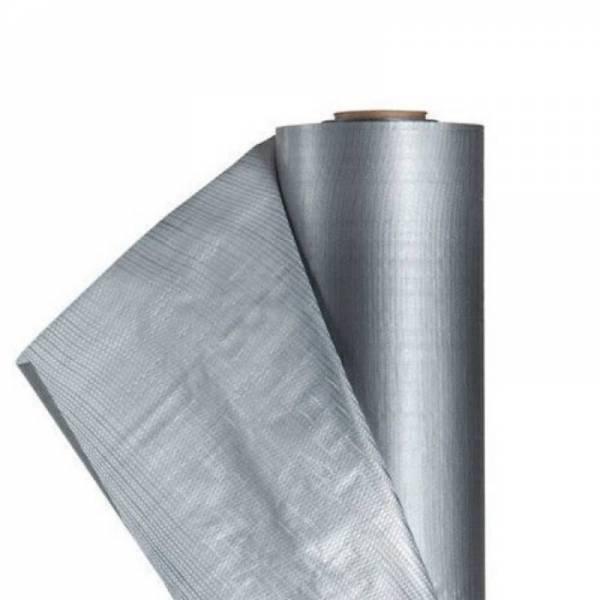 Гидроизоляция, гидро барьер Shadow плотностью 100 г/м2, 1,5х50м, серый