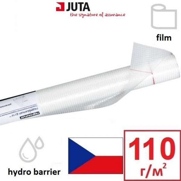 Гидроизоляция, гидробарьер Д110 Juta плотностью 110 г/м2, 1,5х50м, белый