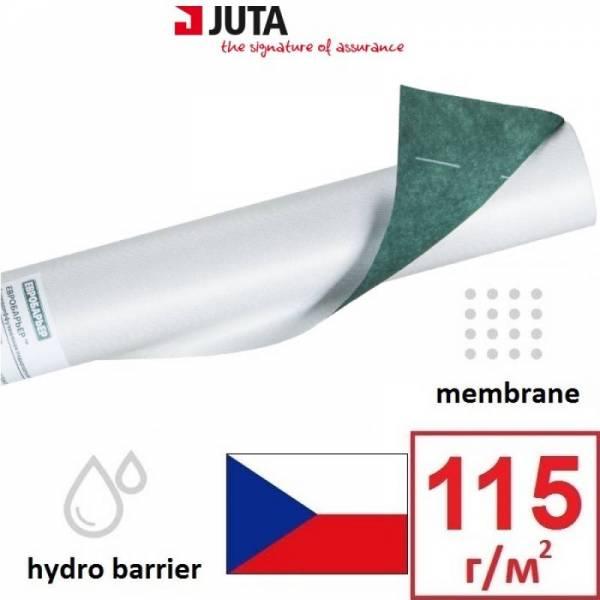 Гидроизоляция, мембрана, евробарьер 115 Juta плотностью 115г/м2, 1,5х50м