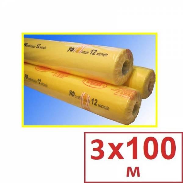Пленка полиэтиленовая для теплиц 180 мкм, 3 х 100м