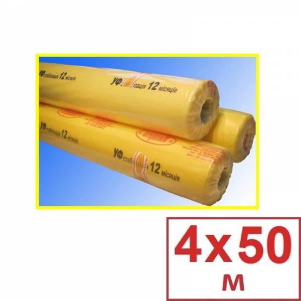 Плівка поліетиленова для теплиць 100 мкм, 4 х 50м