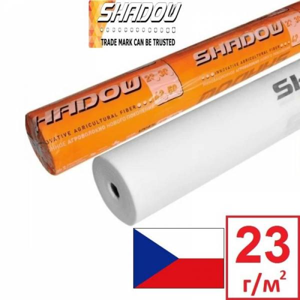 Агроволокно 23 г/м2, 6,3x50м, белое Shadow