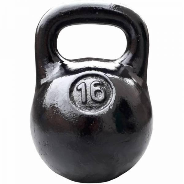 Советская спортивная чугунная гиря 16 кг