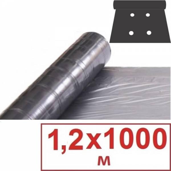 Пленка с перфорацией 25 мкм, 1,2 х 1000м