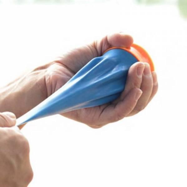 Компактная мощная резиновая карманная рогатка