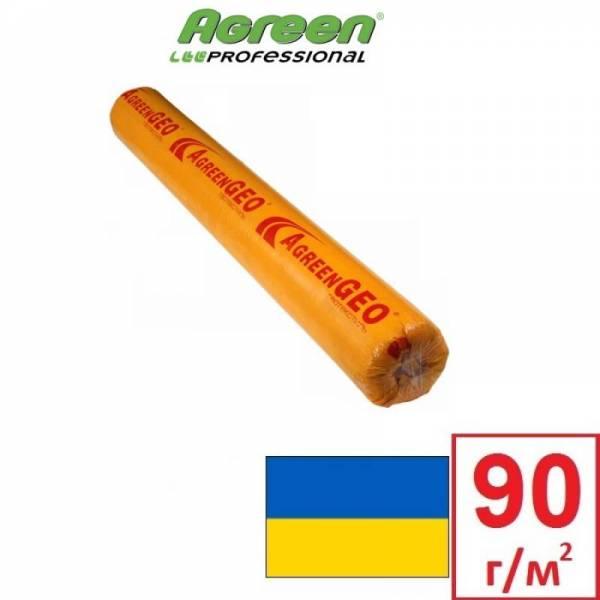 Геотекстиль Agreen GEO П-90 плотностью 90 г/м2, белый, 1,6х50м