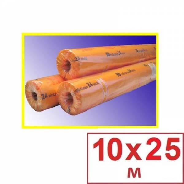 Пленка полиэтиленовая тепличная 120 мкм, 10 х 25м