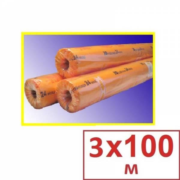 Пленка полиэтиленовая тепличная 150 мкм, 3 х 100м