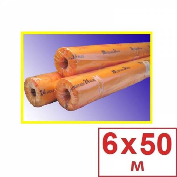 Плівка поліетиленова теплична 80 мкм, 6 х 50м