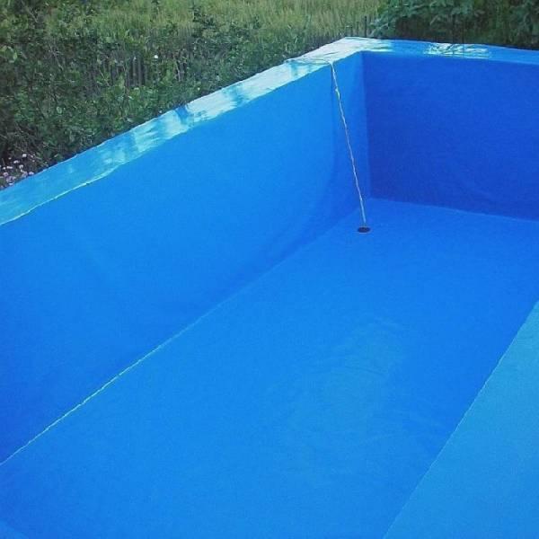 Пленка полиэтиленовая для бассейна 120 мкм, 6 х 50м