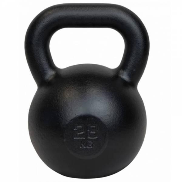 Чугунная спортивная гиря для кроссфита 28 кг