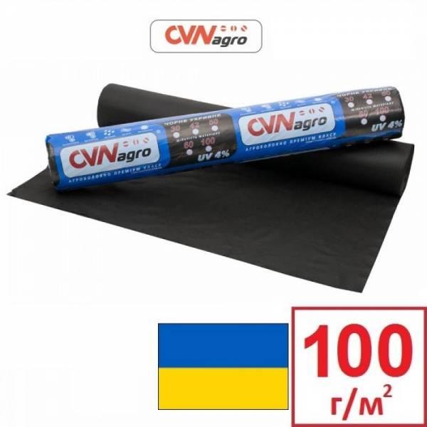 Агроволокно 100 г/м2, 3,2x50м, черное