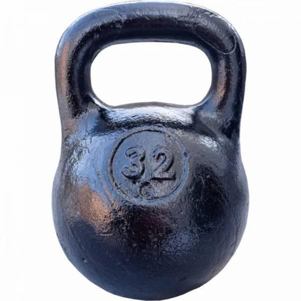Советская спортивная чугунная гиря 32 кг