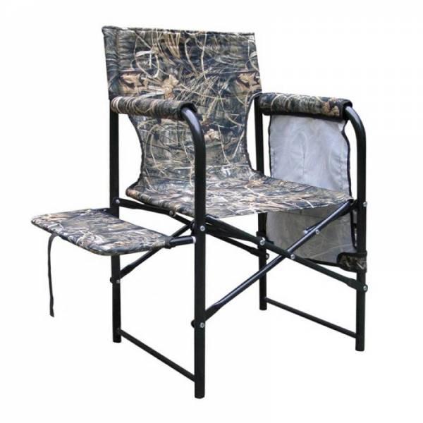 """Камуфляжное складное кресло с полочкой """"Стул режиссера"""""""