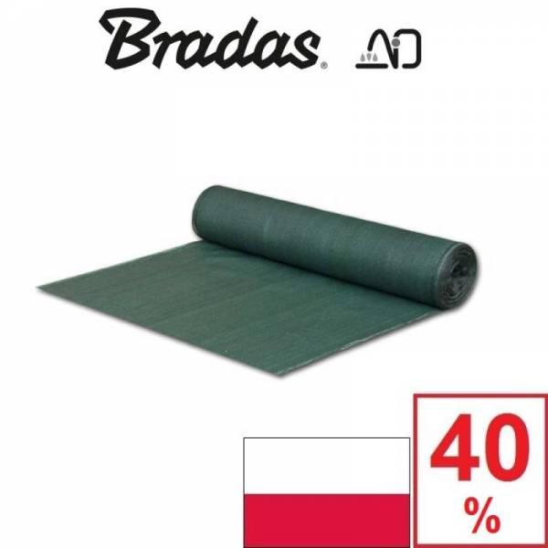Сетка затеняющая Брадас Bradas 40% 1 х 50 м