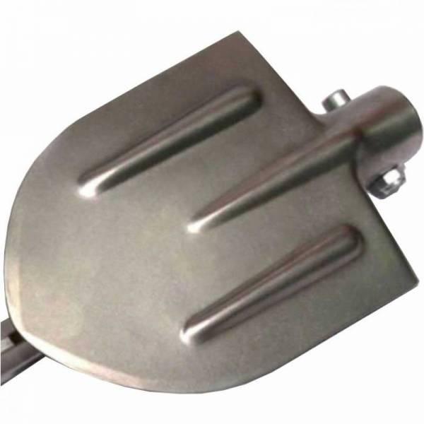 Раскладная титановая лопата для авто с металлическим черенком