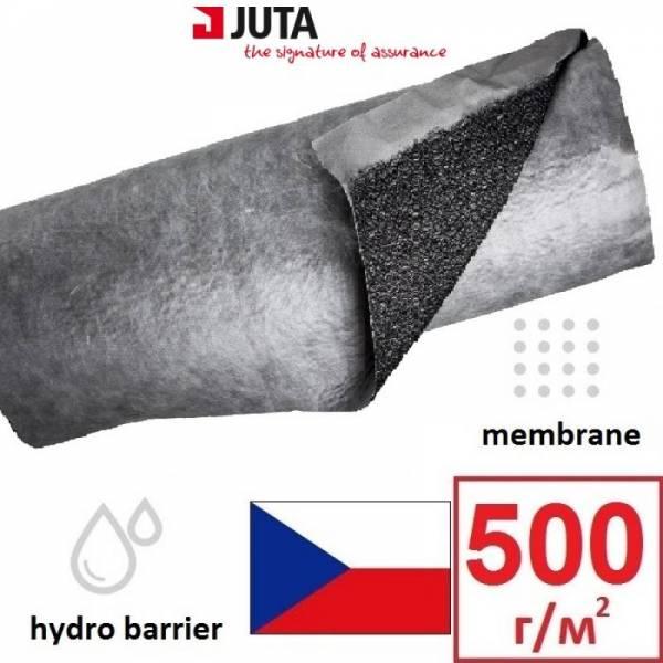 Гидроизоляция, мембрана, евробарьер F150 Juta плотностью 500г/м2, 1,5х25м