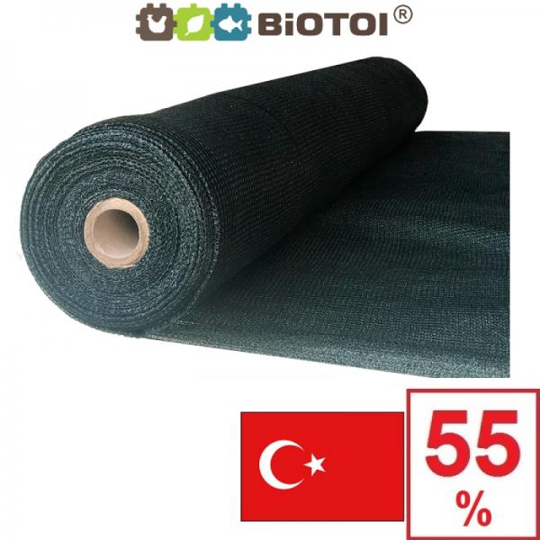 Сетка затеняющая Биотол, Biotol 55% 10 х 4 м