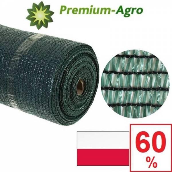Сетка затеняющая Premium-Agro 60% 2 х 100 м