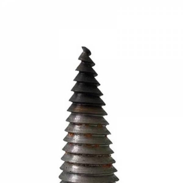 Ремонт кончика, заточка и закалка винтового конуса колуна дровокола
