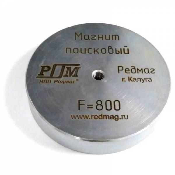 Односторонний поисковый магнит Редмаг F800 (800 кг)