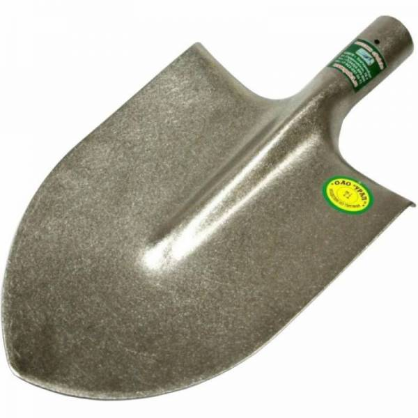 Легкая штыковая большая титановая лопата для копа