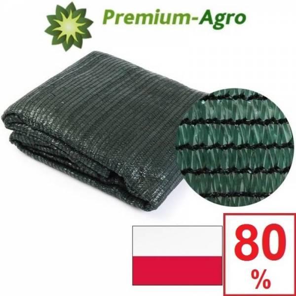 Сетка затеняющая Premium-Agro 80% 2 х 1 м