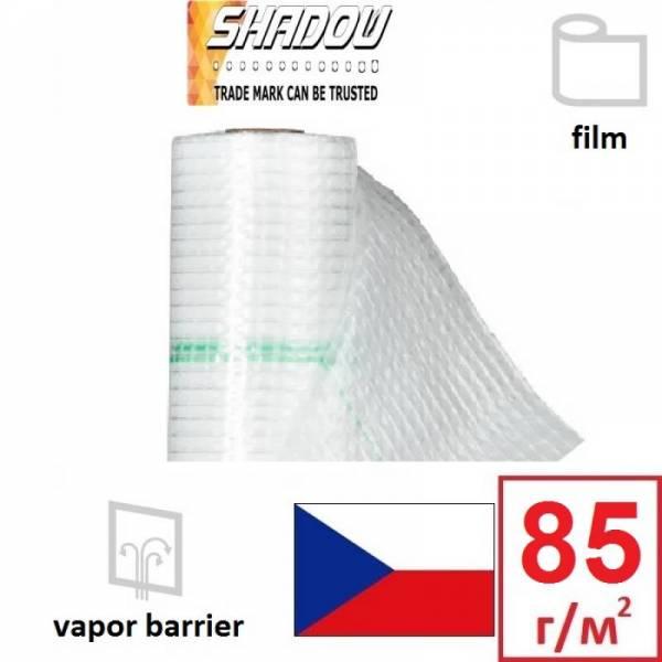 Пароизоляция, паробарьер армированный Shadow 85г/м2, 1,5х50м, белый