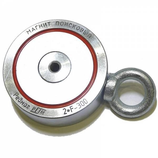 Двухсторонний поисковый магнит Редмаг 2*F300 (300 кг)