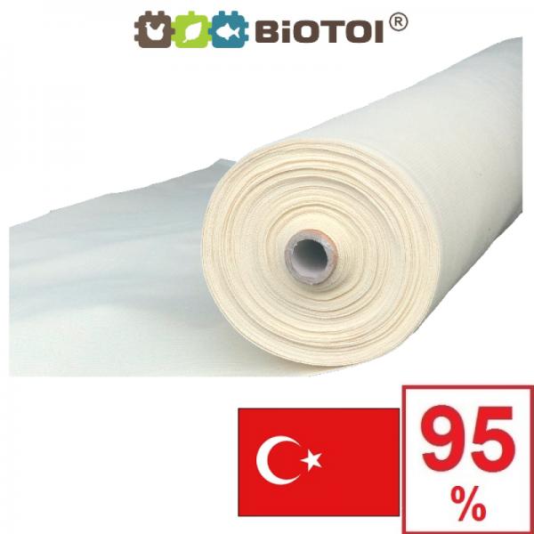Бежевая сетка затеняющая Биотол, Biotol 95% 4 х 10 м