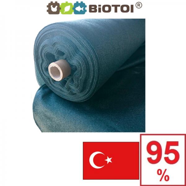Сетка затеняющая Биотол, Biotol 95% 1,5 х 5 м