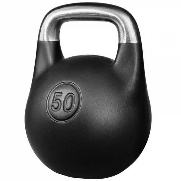 Чугунная спортивная литая гиря Кроссфит 50 кг