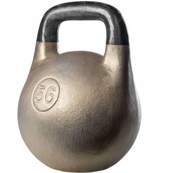Чугунная спортивная литая гиря Кроссфит 56 кг