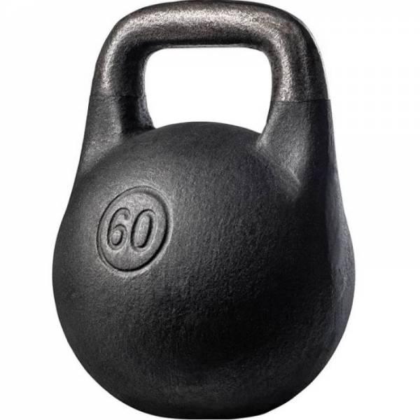Чугунная спортивная литая гиря Кроссфит 60 кг