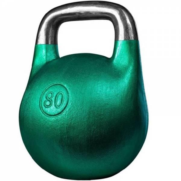Чугунная спортивная литая гиря Кроссфит 80 кг