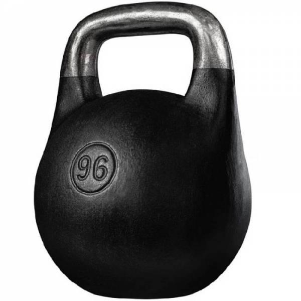 Чугунная спортивная литая гиря Кроссфит 96 кг