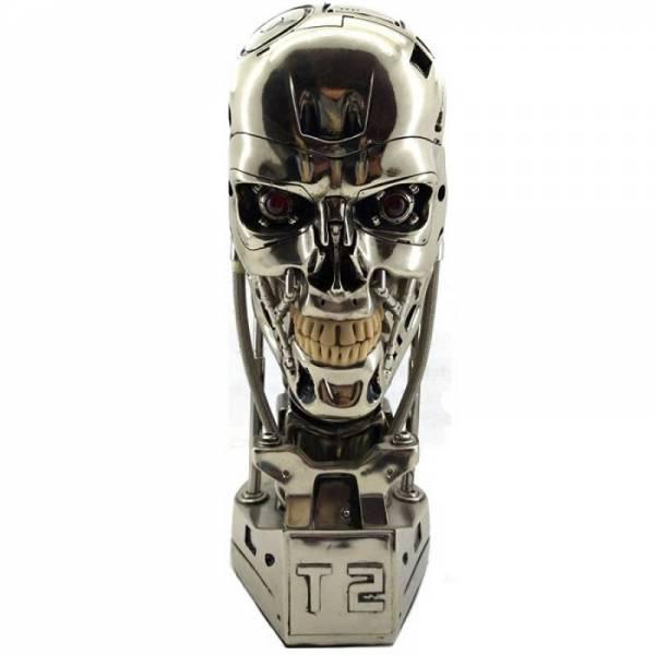 Голова термінатора T800, череп статуетка