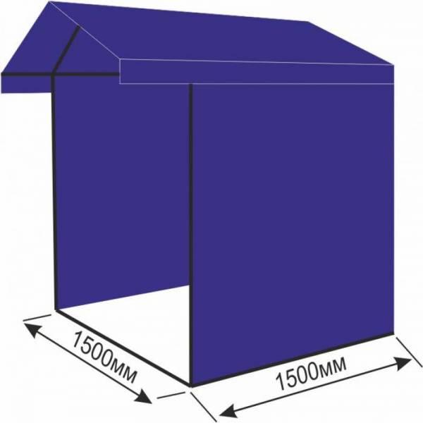 Хорошая торговая палатка 1,5х1,5 м для выставки