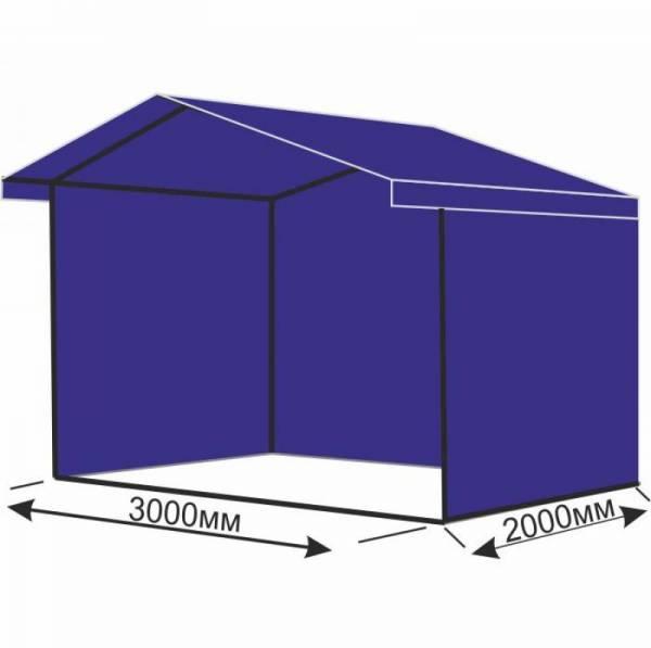 Торговая палатка шатер 3х2 метра для ярмарки
