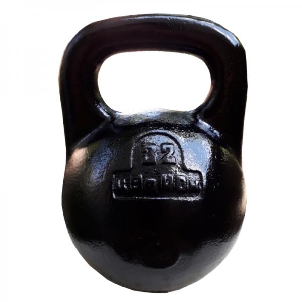 Советская спортивная чугунная гиря 32 кг (КЛЗ)