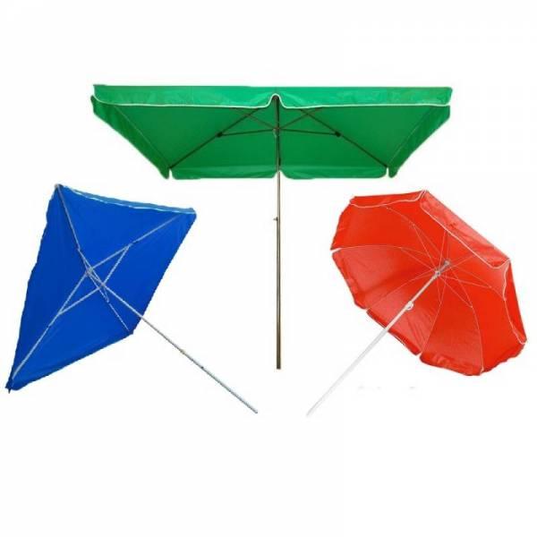 Квадратные и круглые зонты для торговли на улице (Китай)