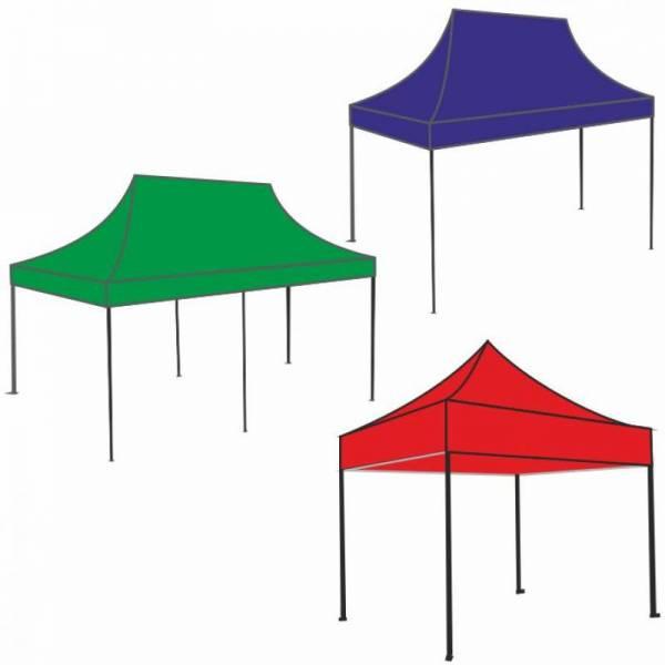 Раздвижной шатер тент гармошка 2х3м, 3х3м, 3х4,5м, 3х6м (Китай)
