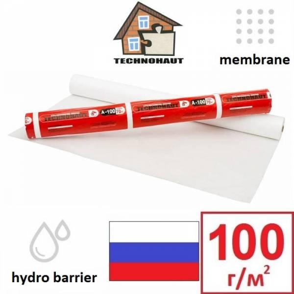 Гідроізоляція, гідробар'єр Технохаут A-100 TECHNOHAUT 75г/м2, 1,6х43,75м