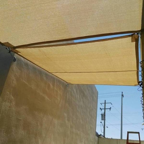 Бежевая сетка затеняющая Биотол, Biotol 95% 4 х 5 м