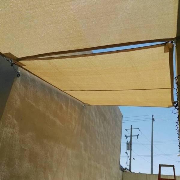 Бежевая сетка затеняющая Биотол, Biotol 95% 5 х 4 м
