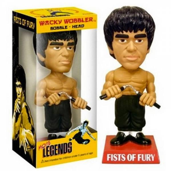 Игрушка на торпеду автомобиля Bruce Lee