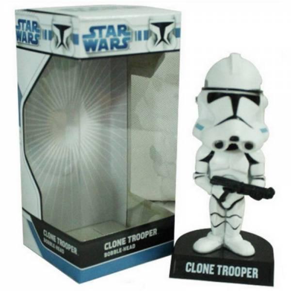 Игрушка на торпеду автомобиля Clone trooper