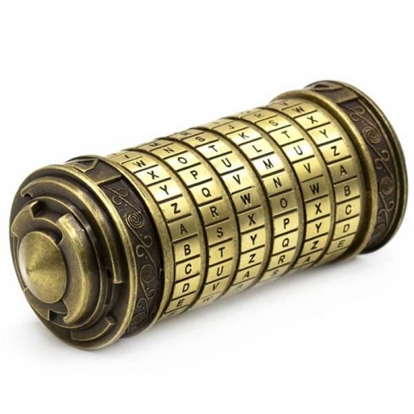 "Криптекс ""Код Да Винчи"" (6 колец латинские буквы)"